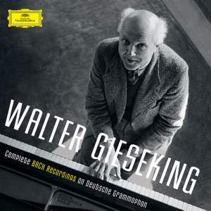 Walter Gieseking: Complete Bach Recordings on Deutsche Grammophon Product Image