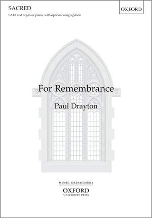 Drayton, Paul: For Remembrance