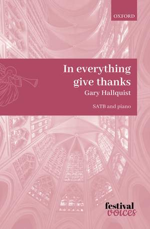 Hallquist, Gary: In everything give thanks