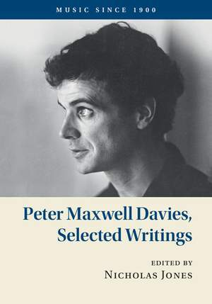 Peter Maxwell Davies, Selected Writings