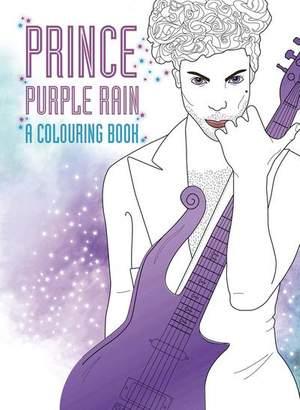 Prince: Purple Rain: A Colouring Book
