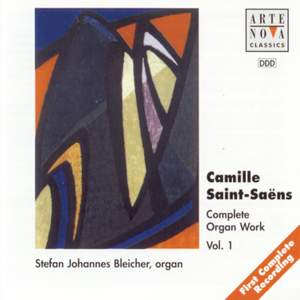 Saint Saens: Organ Works Vol.1