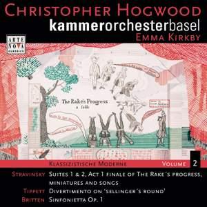 Stravinsky, Tippett & Britten