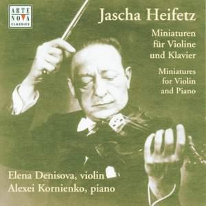 Heifetz: Variations For Violin & Piano