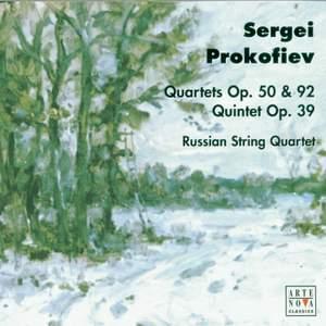 Prokofiev: String Quartets 1 & 2, Piano Quintet & Hebrew Overture