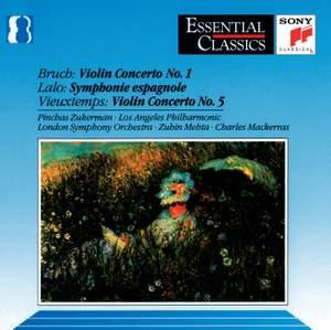Bruch, Lalo & Vieuxtemps Violin Concertos