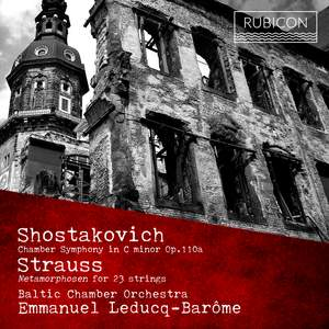 Leducq-Barôme conducts Shostakovich & Strauss Product Image