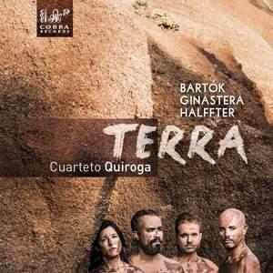 Terra - String Quartets by Bartók, Ginastera & Halffter Product Image