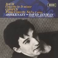 Ashkenazy plays JS Bach & Chopin - Vinyl Edition