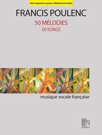 Francis Poulenc: 50 Mélodies