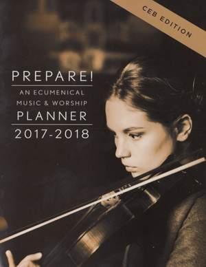 David L. Bone_Mary Scifres: Prepare! 2017-2018