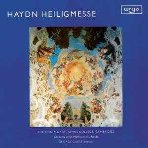 Haydn: Mass, Hob. XXII:10 in B flat major 'Heiligmesse'