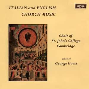 Italian & English Church Music