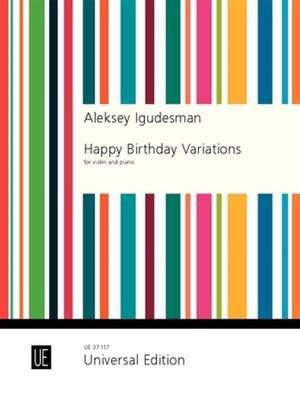 Igudesman, A: Happy Birthday Variations