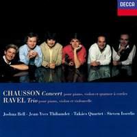 Chausson: Concert for Piano, Violin & String Quartet & Ravel: Piano Trio