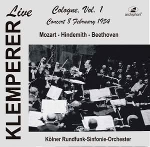 Klemperer Live: Cologne, Vol. 1 (Live)