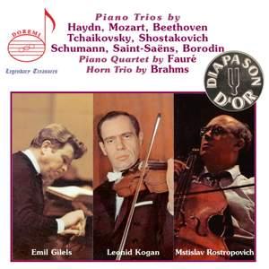 The Gilels-Kogan-Rostropovich Trio Recordings Product Image