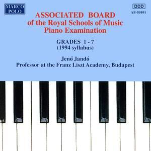 Piano Music For Students: Associated Board Piano Examination, Grades 1-7