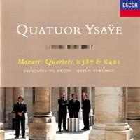 Mozart: String Quartets Nos. 14 & 15 'Haydn'