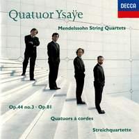 Mendelssohn: String Quartet No. 5 & 4 Pieces for String Quartet Op. 81