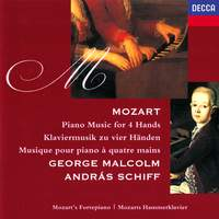 Mozart: Piano Music for 4 Hands