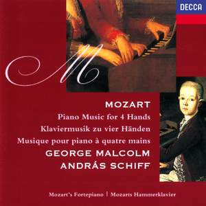 Mozart: Music for 4 Hands Product Image