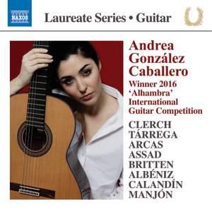 Guitar Laureate: Andrea González Caballero