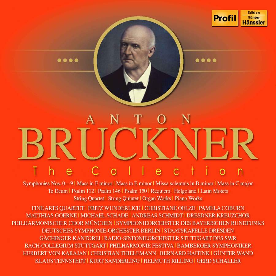 Bruckner: The Collection (revised) - Profil Medien: PH16059 - 23 CDs or  download | Presto Classical