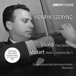 Henryk Szeryng plays Vivaldi And Mozart Product Image