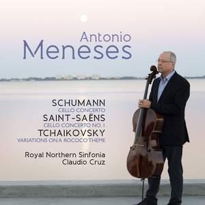 Saint-Saens, Schumann & Tchaikovsky: Works for Cello & Orchestra