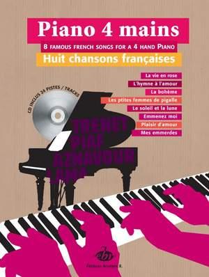 Piano 4 mains, 8 Chansons Françaises Product Image