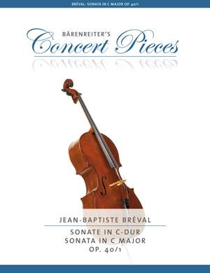 Bréval, Jean-Baptiste: Sonata C major op. 40/1
