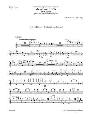 Gounod, Charles: Messe solennelle (Ste Cécile) for Soloists (STB), Choir (SATB), Orchestra and Organ