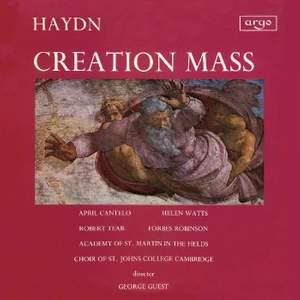 Haydn: Mass, Hob. XXII:13 in B flat major 'Schöpfungmesse'