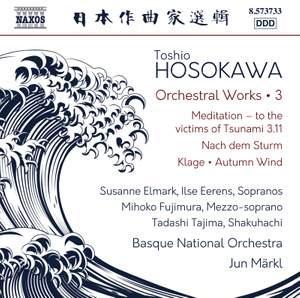 Hosokawa: Orchestral Works, Vol. 3 Product Image