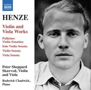 Henze: Violin & Viola Works