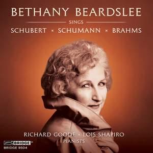 Bethany Beardslee sings Schubert, Schumann and Brahms