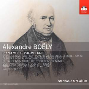 Boëly: Piano Music, Vol. 1 Product Image