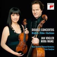 Brahms, Rihm, Harbison: Double Concertos