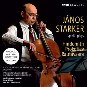 János Starker plays Cello Concertos by Hindemith; Prokofiev & Rautavaara Product Image