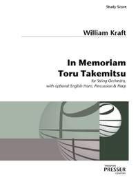 William Kraft: In Memoriam Toru Takemitsu