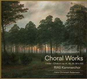 Mendelssohn: Choral Lieder