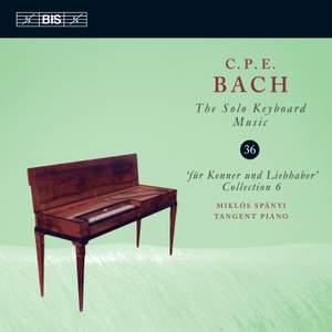 C P E Bach - Solo Keyboard Music Volume 36