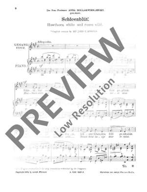 Bley, G: Haw-thorn white and roses wild / Cradle-Song op. 16 / op. 17 Product Image