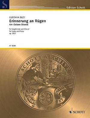 Bley, G: Erinnerung an Rügen op. 25/2