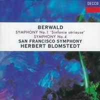Berwald: Symphonies Nos. 1 & 4