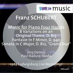 Schubert: Music for Piano Duet