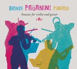 Paganini: Sonatas for Violin & Guitar