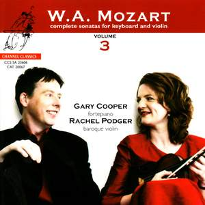 Mozart: Complete Sonatas for Keyboard and Violin, Vol. 3