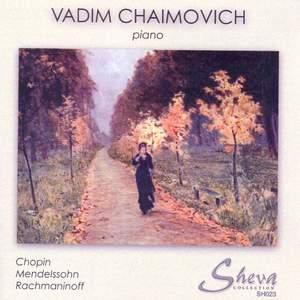 Chopin, Mendelssohn, Rachmaninoff & Czerny: Piano Works